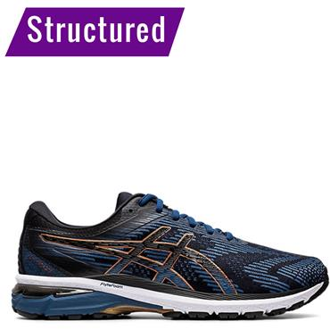 ASICS Mens GT 2000 8 Running Shoes - Navy