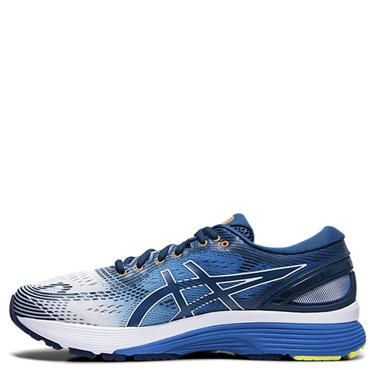 ASICS Mens Gel Nimbus 21 Running Shoe - Blue