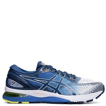 ASICS Mens Gel Nimbus 21 Running Shoe - BLUE