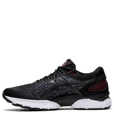 Asics Mens Gel-Nimbus 22 Knit Running Shoe - BLACK