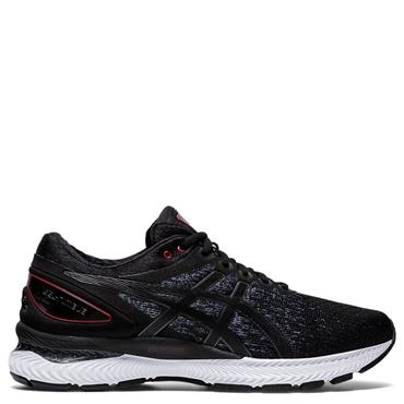 Asics Mens Gel-Nimbus 22 Knit Running Shoe - BLACK