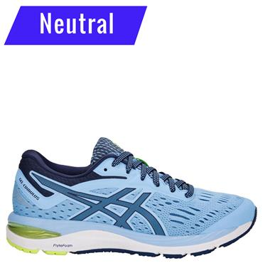 WOMENS GEL CUMULUS 20 RUNNING SHOE - BLUE