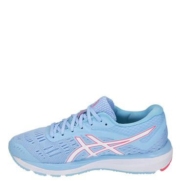 ASICS WOMENS GEL CUMULUS 20 - BLUE/WHITE