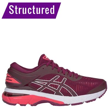 ASICS WOMENS GEL KAYANO 25 RUNNING SHOE - PINK