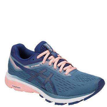 ASICS WOMENS GT 1000 7 RUNNING SHOE - BLUE