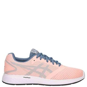 ASICS Womens Patriot 10 Running Shoe - Coral/Blue