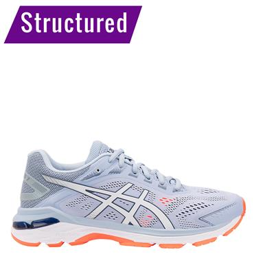 ASICS Womens GT 2000 7 Running Shoe - Blue/White