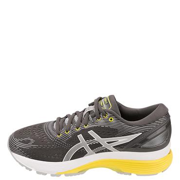 ASICS Womens Nimbus 21 Running Shoe - Grey