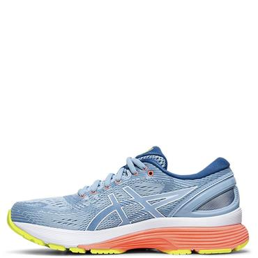 ASICS Womens Gel Nimbus 21 Running Shoe - Blue