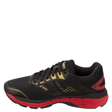 ASICS WOMENS GT 2000 7 - BLACK/RED