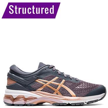 ASICS Womens Gel Kayano 26 Running Shoes - Grey