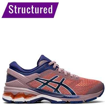ASICS Womens Gel Kayano 26 Running Shoe - Purple