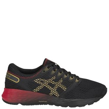 ASICS Womens Roadhawk FF 2 Runners - Black/Red