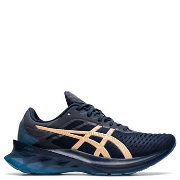 ASICS Womens Novablast Running Shoe - Navy