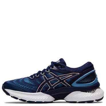ASICS Womens Gel Nimbus 22 Running Shoes - Navy