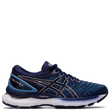 ASICS Womens Gel Nimbus 22 Running Shoes - Navy