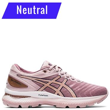 ASICS Womens Gel Nimbus 22 Running Shoes - Pink