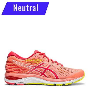 ASICS Womens Gel Cumulus 21 Running Shoe - Coral