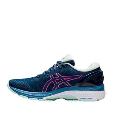 Asics Womens Gel-Kayano 27 Running Shoes - Navy