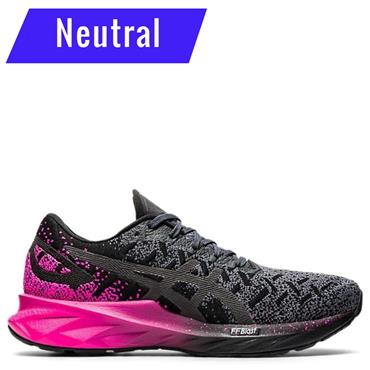 Asics Womens Dynablast Running Shoe - BLACK