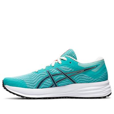 Asics Womens Patriot 12 Running Shoe - Blue