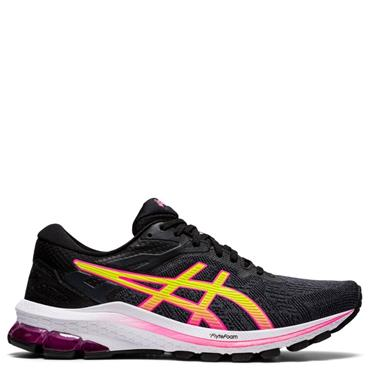 ASICS Womens GT-1000 10 Running Shoe - BLACK