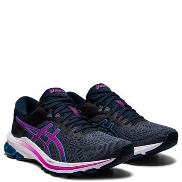 ASICS Womens GT-1000 10 Running Shoe - Navy