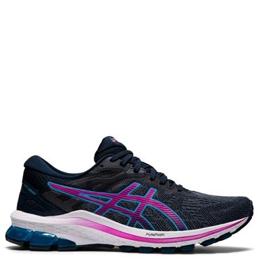 ASICS Womens GT-1000 10 Running Shoe - Navy