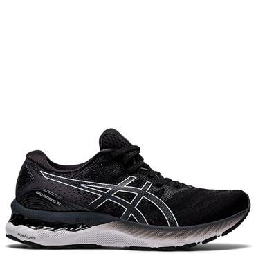 ASICS Womens Gel Nimbus 23 Running Shoes - BLACK