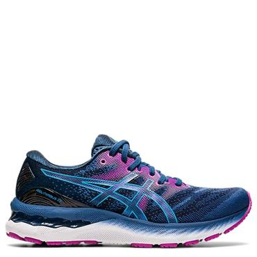 Asics Womens Gel-Nimbus 23 Running Shoes - Navy