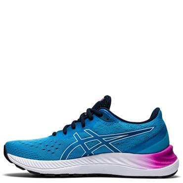Asics Womens Gel Excite 8 Running Shoes - BLUE