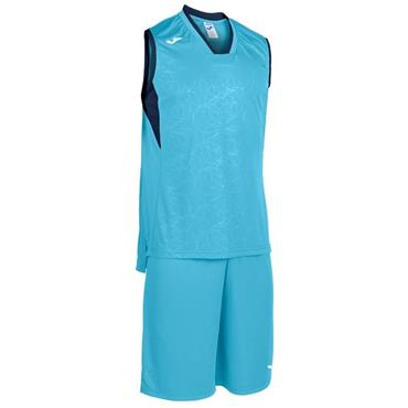 Joma Kids Basketball Set - Turquoise/Navy