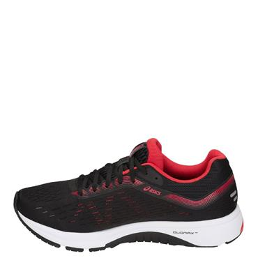 KIDS GT 1000 7 GS RUNNING SHOE - BLACK/RED