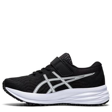 Asics Kids Patriot 12 PS Running Shoe - BLACK