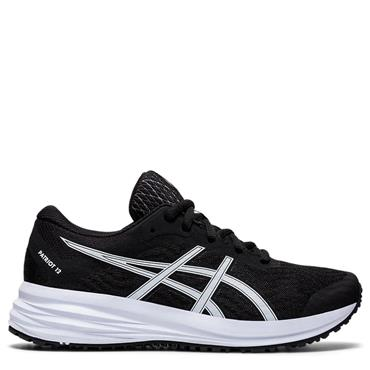 Asics Kids Patriot 12 GS Running Shoe - BLACK