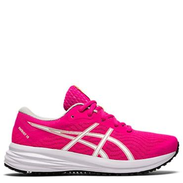 Asics Kids Patriot 12 GS Running Shoe - Pink