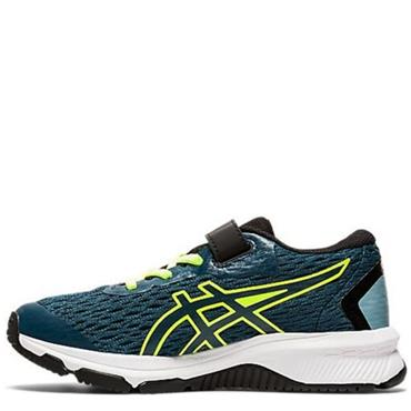 Asics Kids GT-1000 9 PS Running Shoe - Blue