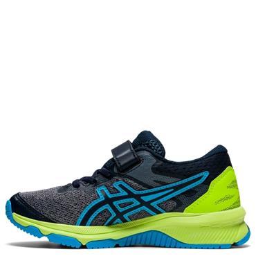 ASICS Kids GT-1000 10 PS Running Shoe - Grey