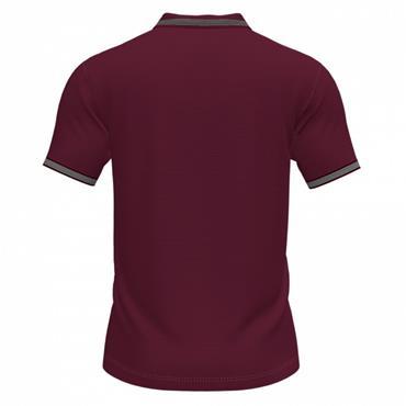 Joma Campus III Polo Shirt - Burgandy