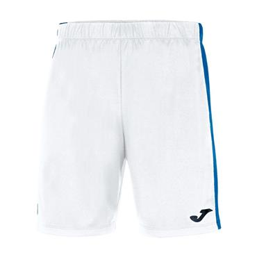 Joma Academy Maxi Short - White/Royal Blue