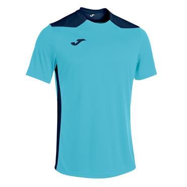 Joma Championship VI Jersey - Turquoise/Navy