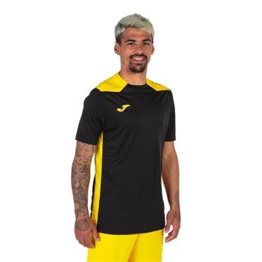 Joma Championship VI Jersey - Black/Yellow