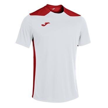 Joma Championship VI Jersey - White/Red