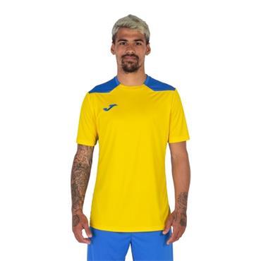 Joma Championship VI Jersey - Yellow/Royal Blue