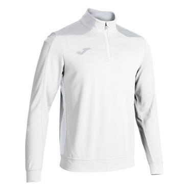 Joma Championship VI Half Zip Top - White/Grey