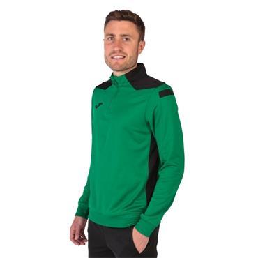 Joma Championship VI Half Zip Top - Green/Black