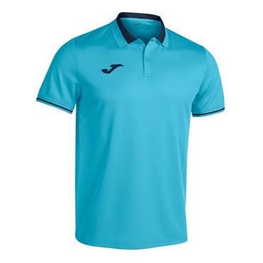Joma Championship VI Polo Shirt - Turquoise/Navy