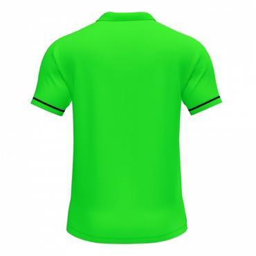 Joma Championship VI Polo Shirt - FlourGreen/Black