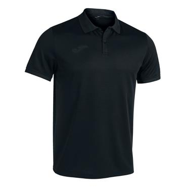 Joma Championship VI Polo Shirt - BLACK