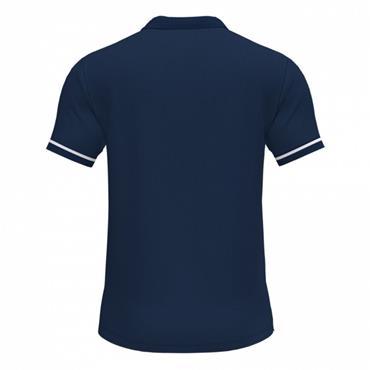 Joma Championship VI Polo Shirt - Navy/White